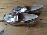 clarks shoes loafers, new size 6.5