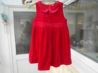 M&S Christmas Party dress 1 1/2 - 2yrs