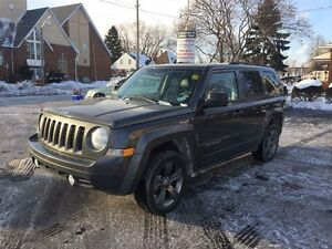 2015 JEEP PATRIOT HIGH ALTITUDE- LEATHER HEATED SEATS, FOUR-WHEE