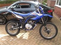 Yamaha WR 125 R 2009 Michelin Sirac Front & Rear Tyres.