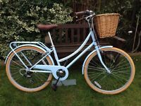 BOBBIN BON BON LADIES TOWN BIKE £85 WITH BASKET AND REAR RACK