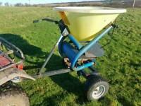 Quad atv Fleming towable fertiliser spreader