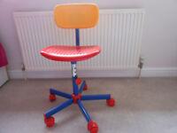 Kids swivel chair