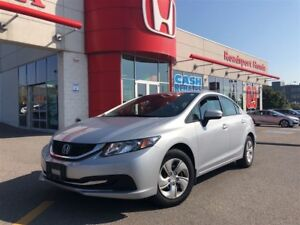 2015 Honda Civic Sedan LX, one owner, original roadsport car