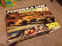 Scalextric 'Formula One' complete set in original box plus additional track and Mini Cooper.