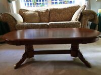 Oblong coffee table very good condition