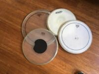Mixed Drum Head Set - 16 /14/13/12 - Good to improve your budget kit