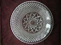 Crystal Glass Platter