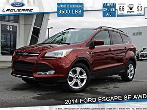 2014 Ford Escape **SE*AWD*CAMERA* CRUISE* A/C 2 ZONES**