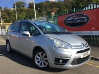2011 11 Citroen Grand C4 Picasso 1.6 HDi 16v VTR+ 5 Door Turbo Diesel 6 Speed Manual 7 Seater