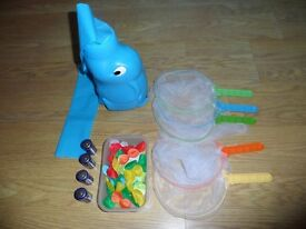 Elefun and friends butterfly catching game