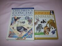 KINGFISHER CHILDREN'S CONCISE ENCYCLOPEDIA AND 100 QUESTIONS AND ANSWERS JUNGLE ANIMALS