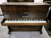 Lovely Dark Oak 'Rockley' Upright Console Piano - CAN DELIVER