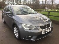 2015 (64) SEAT LEON SPORT TOURER 1.6 TDI SE 5 DOOR - 1 OWNER EXCELLENT CONDITION - FREE ROAD TAX !