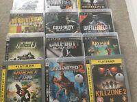 PS3 games bundle for sale - 12 games