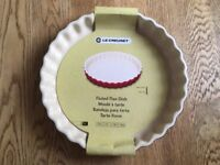 Le Creuset Fluted Flan Dish