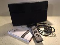 Panasonic XW-NAV1 iPod dock with built in radio, DVD/CD player with remote control