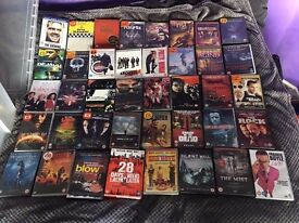 Ex con Huge DVD and blu ray collection