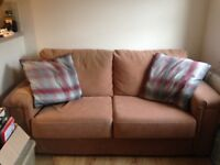 1x 2/3 Seater Sofas - Good Condition