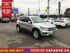 2012 Volkswagen Tiguan S | LEATHER | ROOF | HEATED SEATS