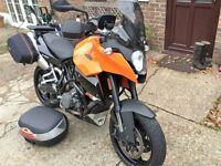 KTM 990 SMT SUPERMOTO T ONE OWNER FKSH VGC FULL LUGGAGE 26K