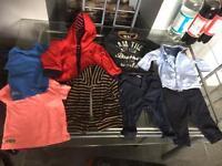 Bundle of designer boys clothes next ,ted baker ,mayoral