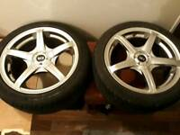 Wheels and tyres Ford Peugeot uneversil