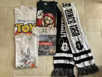 Free - 4 men's medium t shirts and a scarf