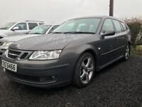 2006 Saab 9-3 Vector Sport 1.9 Diesel Estate / Two Tone Leather / Sat Nav / Part Exchange Available