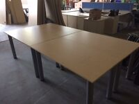 Four Rectangle Desks / Conference Table