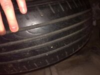 Ford Fiesta tyre and steel rim 175 65 14 £10