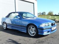 MINT 1997 BMW E36 M3 3.2L EVO CONVERTIBLE, used for sale  Gilford, County Armagh