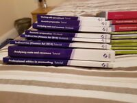Lots of Accounting Books (AAT/CIMA/OU)