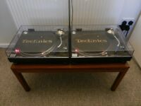 Stunning pair of Technics 1210 Mk2's - Freshly Serviced