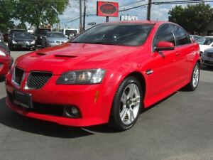 2009 Pontiac G8 V6 *Leather & Sunroof*