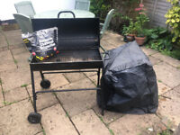Homebase Jumbuck Oil Drum Charcoal BBQ- bought this summer, only used twice!