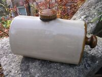 Antique Stoneware Hot Water Bottle Weymouth