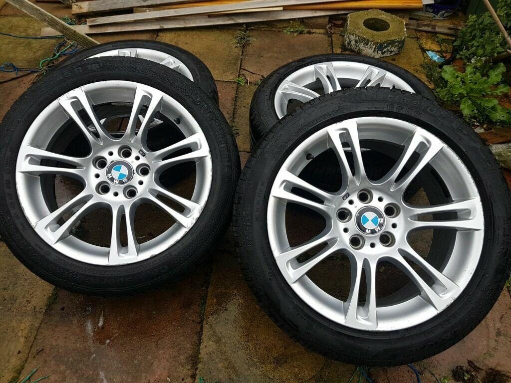 genuine 18 inch bmw f10 m sport alloy wheels 5 series in newham london gumtree. Black Bedroom Furniture Sets. Home Design Ideas