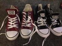 2 pairs converse