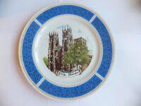 Decorative Plate depicting York Minster