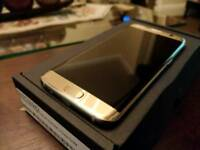 Samsung S7 Edge Gold - Unlocked and Brand New
