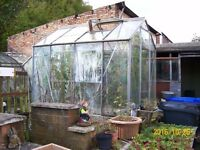 6 x 4 GLASS GREENHOUSE