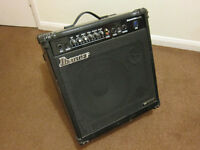 USA Ibanez Sound Wave 65W bass amplifier + electricity transformer