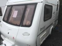 Elddis avante 362 13 feet long mtplm 1000 kg 2001 touring caravan