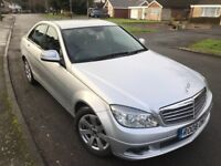 2008 Model MERCEDES-BENZ C220 CDI Auto FSH, Sat Nav, DVD Player, Lady owner, DIESEL 5 DOOR