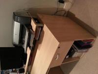 computer desk for sale excellent condition