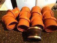 110mm pipe and fittings (NEW)