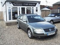 vw passat estate 1.9 tdi 2002