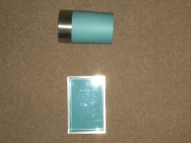 Blue Soap Dish and Tumbler, £2 for Both.