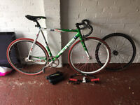 Cinelli Mash Fixie / Singlespeed Bicycle ... with other bits